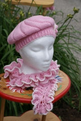 Princess Beret and Scarf Set