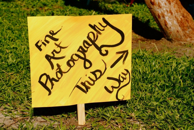 "Fair Sign: ""Fine Art Photography This Way"""