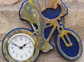 wall clock mountain bike