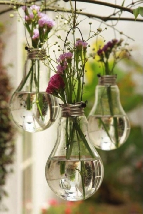 Trash To Treasure Part - 50: Recycled Light Bulbs. What Are Your Most Interesting Trash-to-Treasure ...