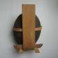 MARK bent wood sculpture