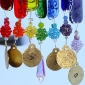 Fused and Stained Glass Wind Chimes